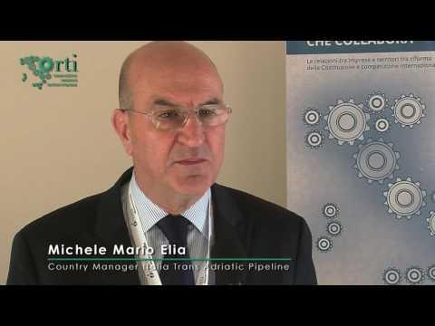 Evento finale II Edizione ORTI - Intervista a Michele Mario ELIA, Trans Adriatic Pipeline