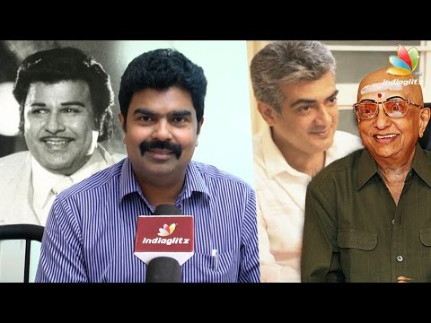 Why Cho Ramaswamy was fond of Ajith : Dr. Vijay Shankar Interview | Jaishankar Son