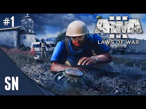 ArmA 3 - Laws of War - Campaign Gameplay #1