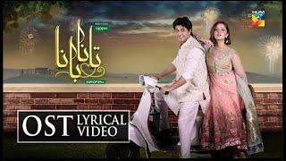 Tanaa Banaa | OST | Lyrical Video | Amanat Ali