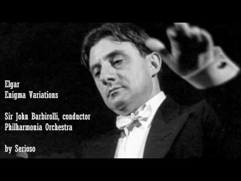 Elgar, Enigma Variations, Sir John Barbirolli
