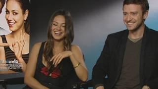Justin Timberlake & Mila Kunis sex rumours