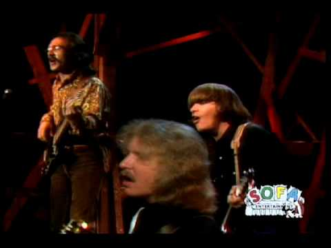 CREEDENCE CLEARWATER REVIVAL Down On The Corner on The Ed Sullivan Show