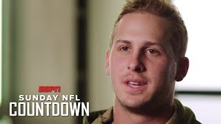 Jared Goff discusses Super Bowl LIII preparation, playing against Tom Brady | NFL Countdown