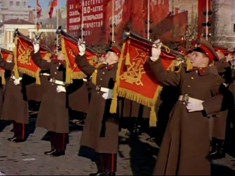 Soviet October Revolution Parade, 1967 Color Highlights