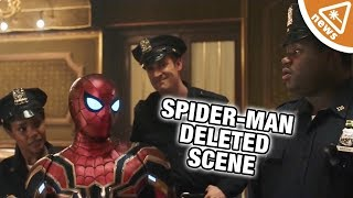 Why Spider-Man: Far From Home Deleted THAT Scene! (Nerdist News w/ Jessica Chobot)
