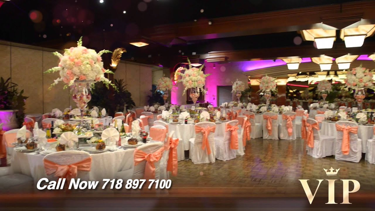 Wedding Decoration  Crest Hollow Country Club By ViP