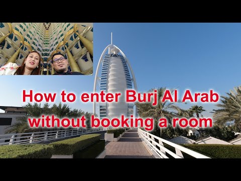 Experience inside Burj Al Arab without booking a room.