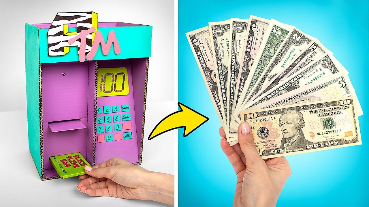 Cum să faci un bancomat uimitor din carton