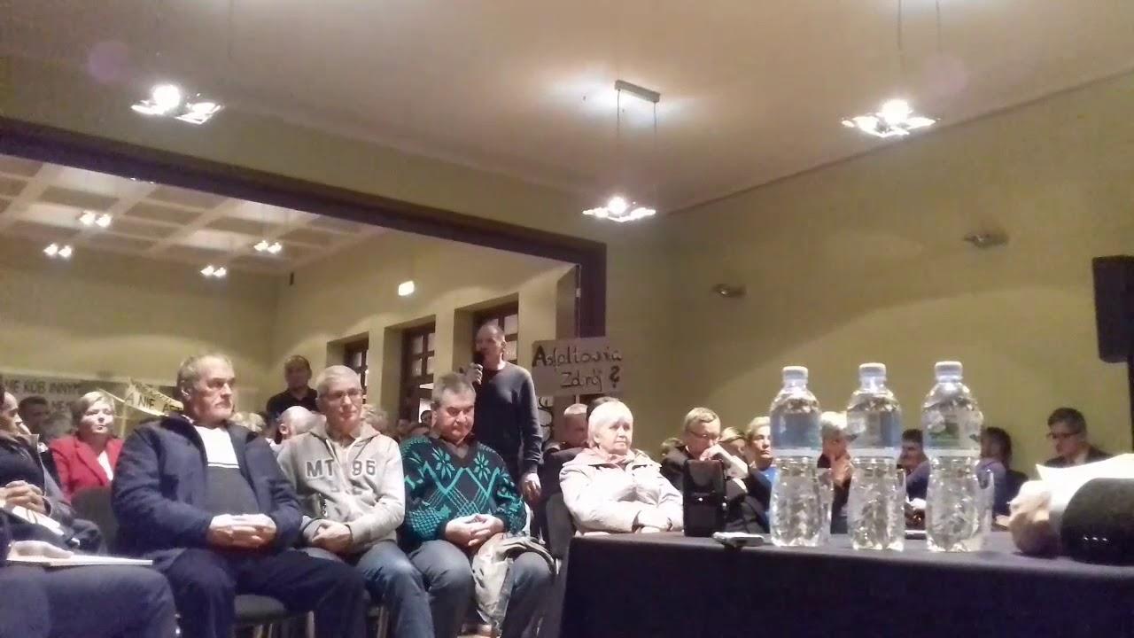 Dyskusja o asfaltowni w RCK. Sprzeciw Nowych Zagród