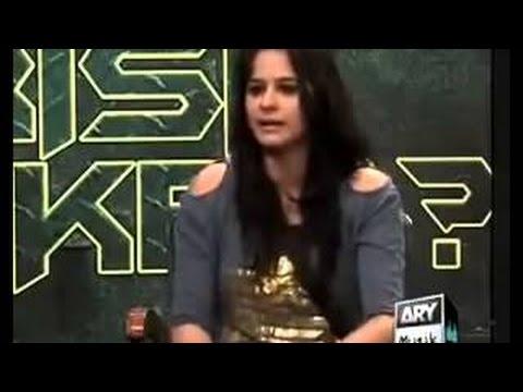 Waqar Zaka is a member of Illuminati Big Secret Exposed by a Girl in front of Waqar Zaka