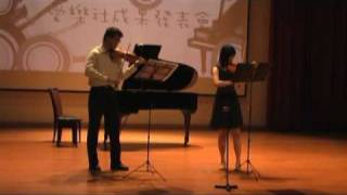 bach concerto for two violins bwv1043 vivace