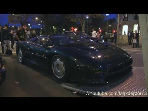 Jaguar XJ220 Delivred in Paris for auctions sales