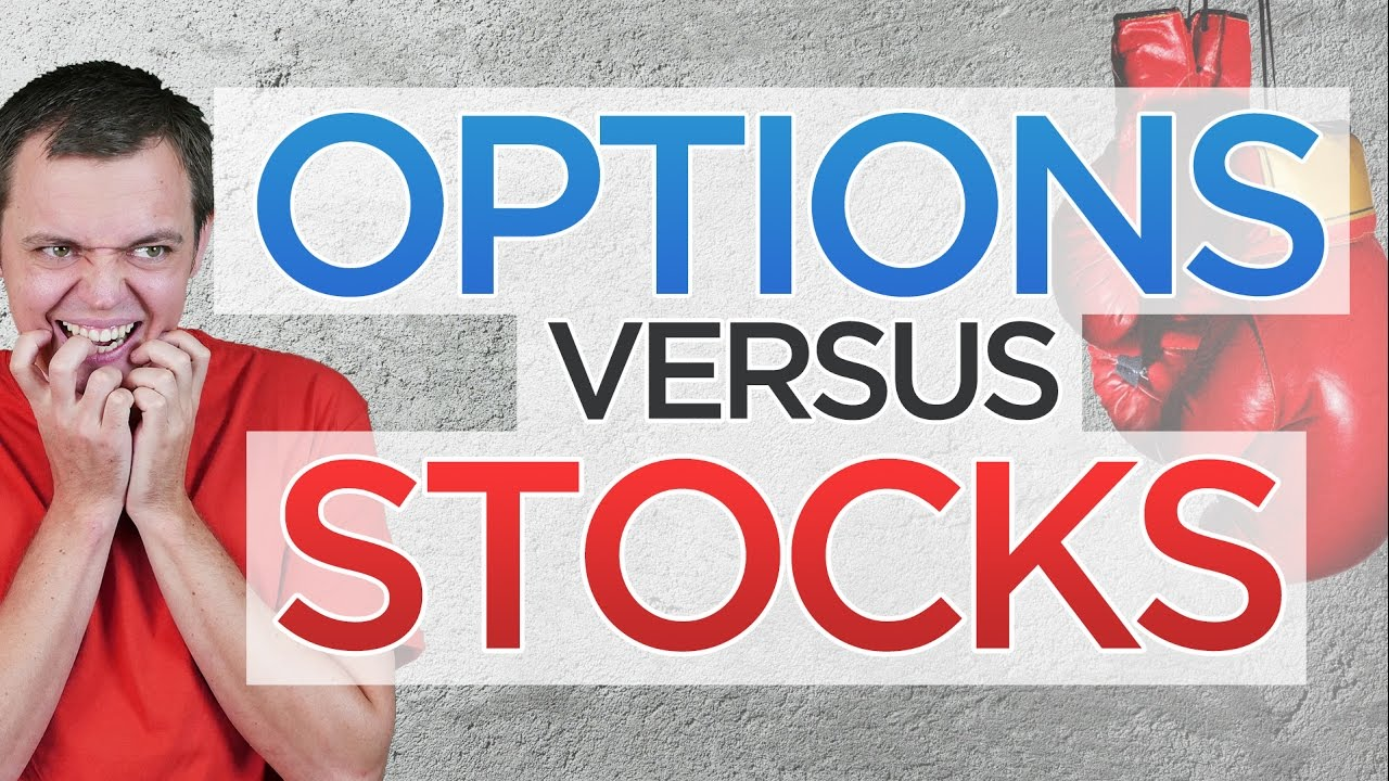 Stock trade vs option trade