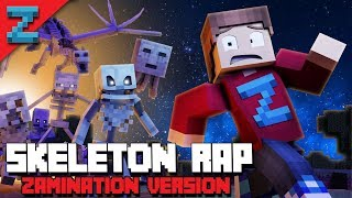 SKELETON RAP | ZAMination Version (Minecraft Animated Music Video) Dan Bull
