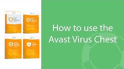 How to use the Avast Virus Chest