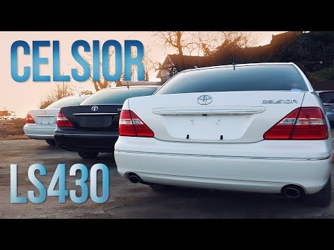 Toyota Celsior UCF30 / LS430   Стремящийся выше