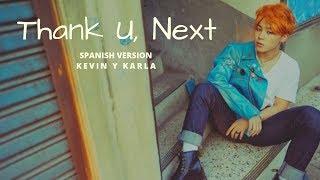 Jimin Thank U, Next - (Spanish Version) Kevin y Karla