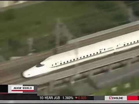JR shinkansen N-700 bullet train for World