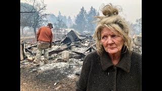 #CampFire: Cathy Fallon calls her sister Karen after Paradise house burns down
