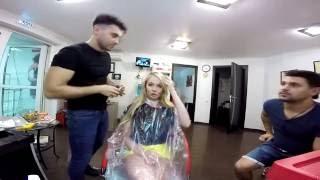видео Прическа от Дарьи Пынзарь.Как за 25мин сделать 4 экспресс прически на выход