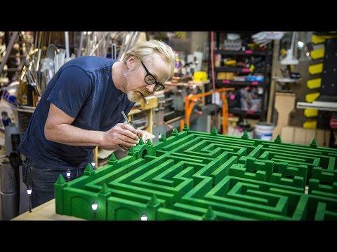 In-Depth: Replicating 'The Shining's' Overlook Maze Model