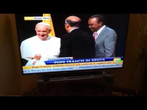 Mr. Naushad Merali meets the Pope