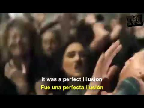Lady Gaga - Perfect Illusion (Perfecta Ilusión) (Letra - Ingles & Español - Video Official)
