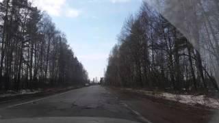 Трасса 'Рыбинск-Углич' в Ярославской области вдоль реки Волги (Камран)
