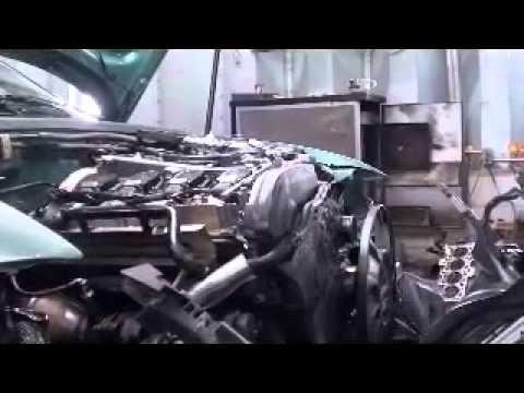 VW Passatt/Audi A4 Tear down Part 2, Engine Replacement