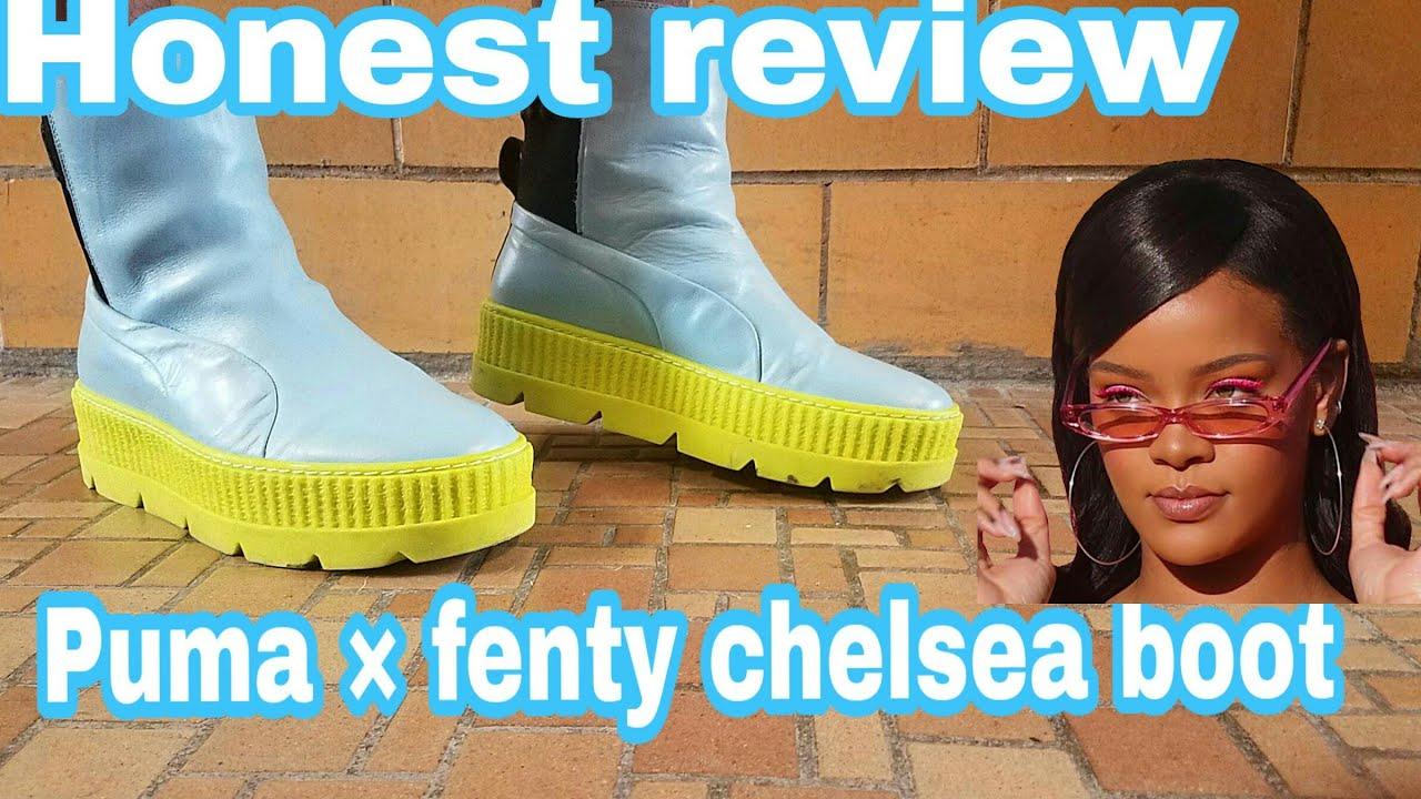 fenty puma by rihanna chelsea boot creeper sneaker