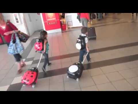 Heys Travel Tots 2pc Kids Luggage - Backpack Set - YouTube
