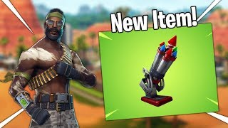 *NEW* ITEM BOTTLE ROCKETS LIVE GAMEPLAY IN FORTNITE! Fortnite Live Stream