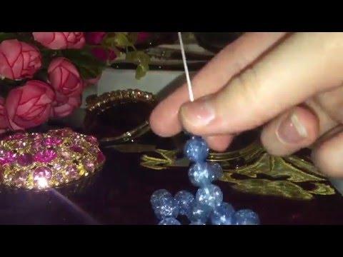 Как сделать браслет из натуральных камней ? #браслет