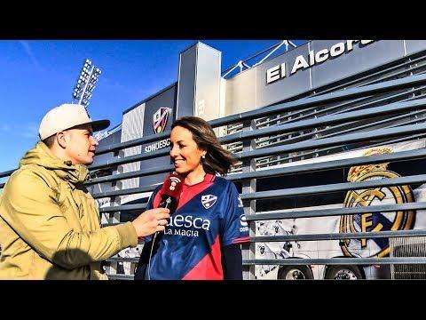 EL ALCORAZ - SD.HUESCA VS REAL MADRID 09/12/18 thumbnail