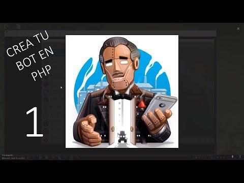 Crear y Programar bot de Telegram en PHP | 1 |