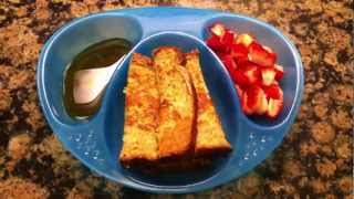 Toddler Meal Idea: Whole Wheat French Toast With Strawberries