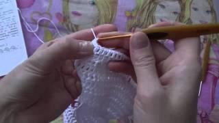 Кофточка для новорожденного крючком ( 1 часть)