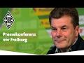 Pressekonferenz vor Freiburg