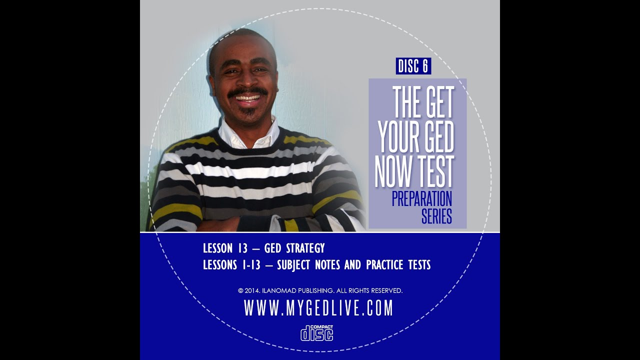 Please Help!!! I need tips for taking the GED test?