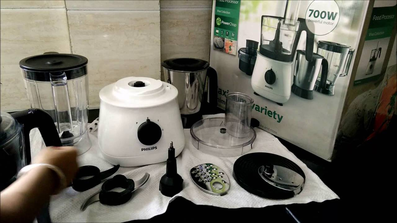 Philips Food Processor How To Use
