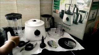 how to use philips food processor hl1660 unboxing and review by happy pumpkins