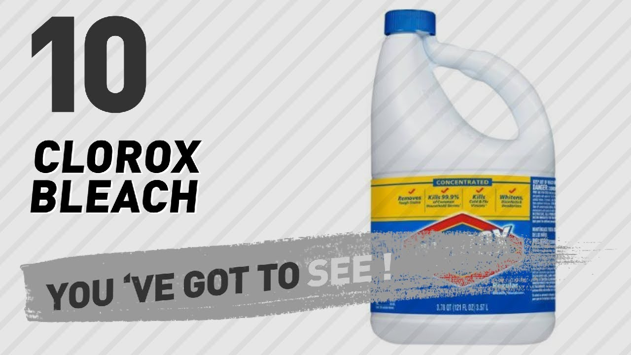 Clorox Bleach Products // Hot Trending Oct 2017 - YouTube