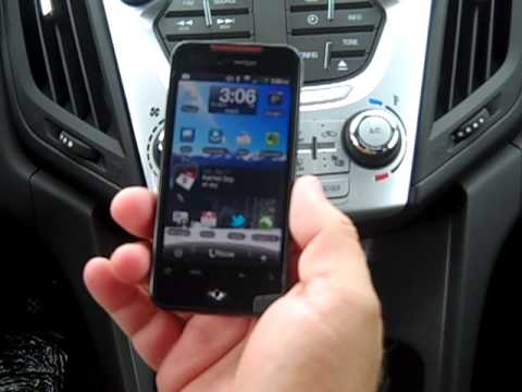 Setting up a Bluetooth device with the 2012 Equinox - YouTube