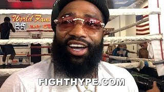 """""""I'M A FOOL"""" - ADRIEN BRONER INSISTS HE'S A MEGASTAR; FIGHT WITH PACQUIAO BIGGEST AT 147"""