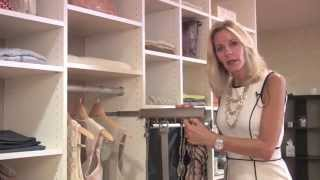 Sliding Belt Racks for Custom Closet Systems Thumbnail