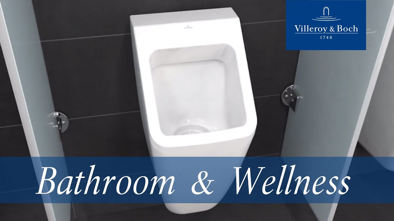 urinal animation architectura collection villeroy. Black Bedroom Furniture Sets. Home Design Ideas