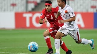 Bahrain vs Vietnam (AFC U-19 Championship 2016: Quarter-finals)