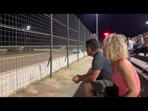 Justin Delgado heat race at Texana raceway park